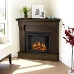 Black Corner Electric Fireplace Lates Southern Enterprises Carrington Wall Or Corner Electric Fireplace