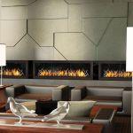 Fireplace Flute Schön Custom Linear Gas Fireplace for Houlihans Restaurant Designed by