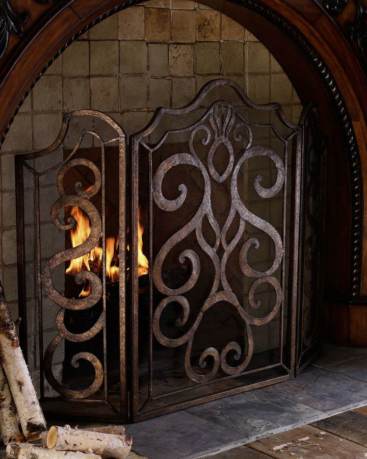 25 Fresh Fireplace Mesh Screen