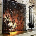 Iron Fireplace Tools Genial Tree Of Life Fire Screen With Door The Tree Of Life Symbolizes