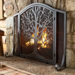 Iron Fireplace tools Schön Tree Of Life Fire Screen with Door the Tree Of Life Symbolizes