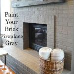 Masonry Fireplace Doors Schön Sneak Peek Susan and Parker Hutchinson Bright Bricks and Gray