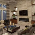 Modern Tile Fireplace Schön 18 Lovely Living Room Designs with Wall Mounted Tv Mounted Tv