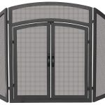 Uniflame Fireplace Screen Einzigartig 3 Panel Wrought Iron Arch top Fireplace Screen Products