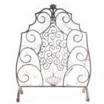 Uniflame Fireplace Screen Schön Uniflame Corporation 3 Panel Wrought Iron Fireplace Screen with