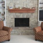 Wall Units with Fireplace Elegant Shelving Ideas Beside Stone Fireplace with Tv Above Google